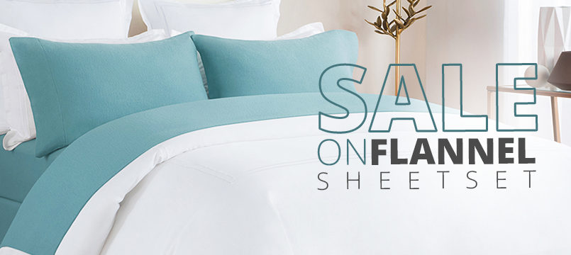 winter Sale on flannel sheet sets
