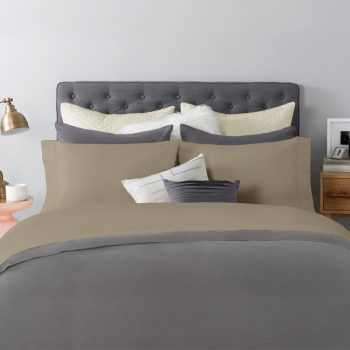 Amazingly Soft To The Touch, And Plush, Sateen Sheet Set In Tan Color