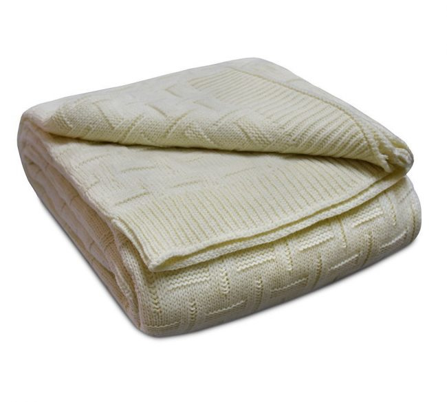 Basket Weave Cotton Ivory 3