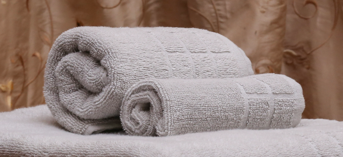 Dobby Check Double Plushy Cotton Towels