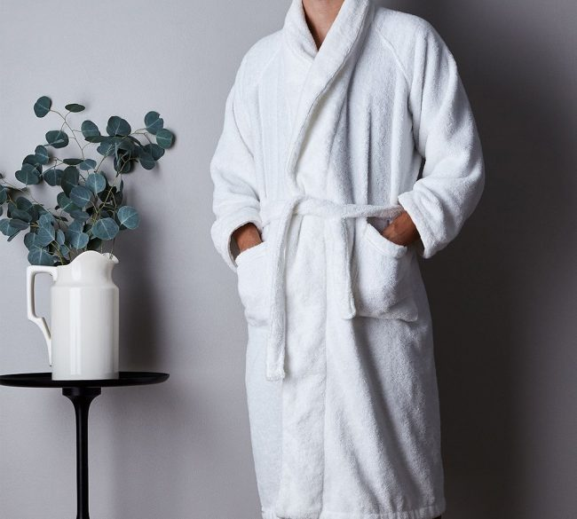 Bathrobe White