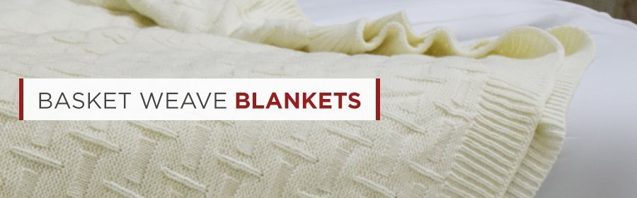 Supremely Soft And Comfy Basket Weave Blankets